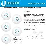 Ubiquiti UniFi UAP AC LR 2.4GHz/5GHz, 802.11ac, No PoE adapters in Set - 5 Pack
