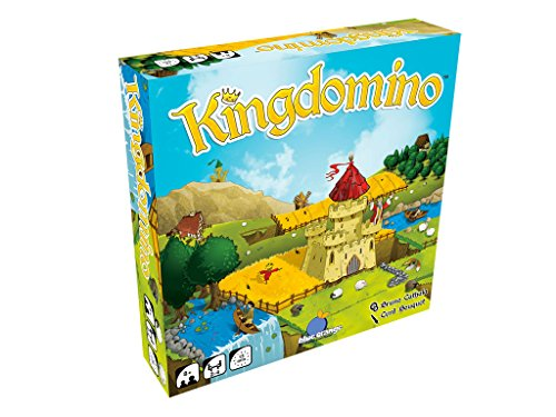 Blue Orange Games Kingdomino Award Winning Family Strategy Board Game - Family Strategy Board Game