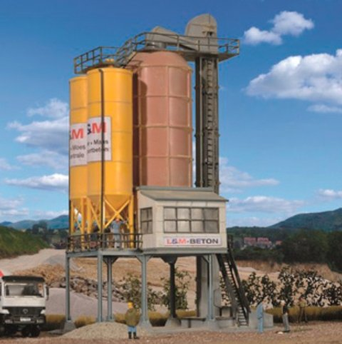 HO Scale Cement Works
