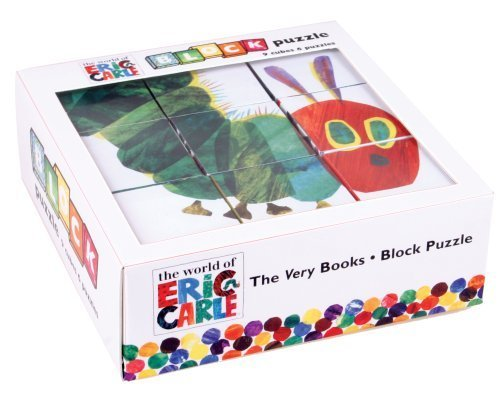 Mudpuppy Eric Carle Very Hungry Caterpillar Block Puzzle published by Mudpuppy (2009) [Toy]