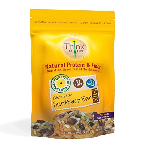 Think.Eat.Live SunPower Bar Mix Made With Sunflower Seed Flour, 10.9 ounces