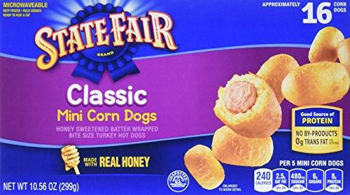 (State Fair, Mini Corn Dogs, Classic, 16 Count (frozen))