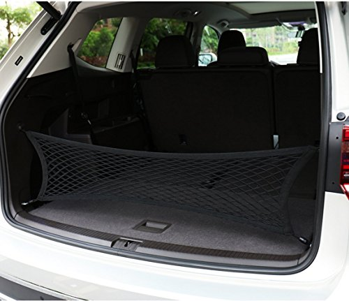 WillMaxMat Envelope Style Stretchable Trunk Cargo Net for Audi Q5