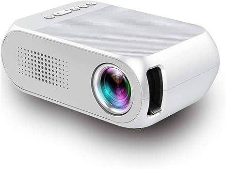 Proyector LED Inicio HDMI VGA AV USB Proyector micro HD 1080 ...