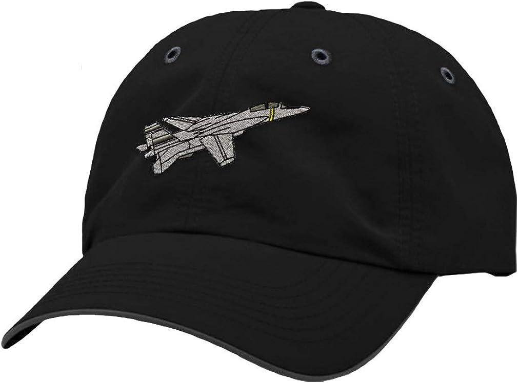 Custom Richardson Running Cap F-14 Tomcat Embroidery Veteran Name Polyester Hat