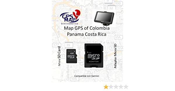 Amazon.com: Costa Rica Colombia GPS MAP (Compatible with Garmin) on americas map, chile map, equator map, spain map, greece map, california map, canada map, carribean map, united states map, brazil map, haiti map, cuba map, peru map, southeast asia map, western hemisphere map, panama map, guanacaste map, italy map, jamaica map, mexico map,