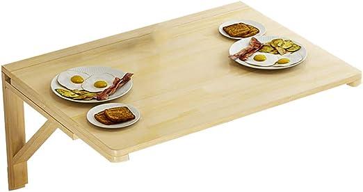 WNX Mesa suspendida de Pared, Mesa de Comedor de Cocina Plegable ...