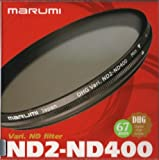 Marumi 67mm 67 DHG Vari ND ND2 to ND400 400 Neutral Density Fader Filter Japan Digital High Grade