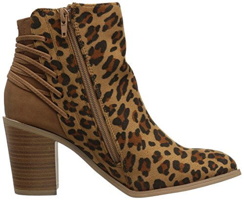 visit sale online Very Volatile Women's Lacey Ankle Bootie Tan/Leopard largest supplier free shipping store official for sale ctIu0I
