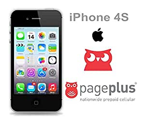 iphone 4s no contract apple iphone 4s 16gb for page plus black no contract 14438