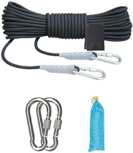 JLCP Cuerda de Escalada, Diámetro 8 mm Cuerda de escap de ...