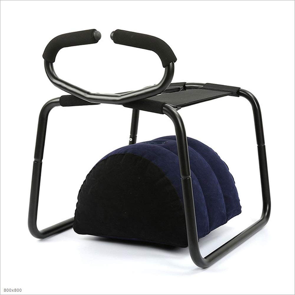MUMMUMUM CozyFeel Bounce Chair with Handrail and Inflatable Pillow Role Play by MUMUMT