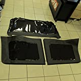 Jeep Wrangler Jk 4 Door Black Top Rear Window Replacement Kit Tinted Oem