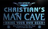 ADV PRO pb1564-b Christian's Man Cave Cowboys Bar Neon Light Sign
