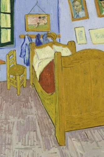 Van Gogh's bedroom in Arles. Blank journal: 160 blank pages, 6 x 9 inch (15.24 x 22.86 cm) Soft cover. France, fine art