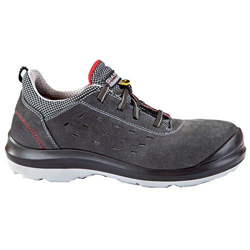 Giasco 31t32140Stoccolma S1P niedrigen Schuh, Größe 40, Schwarz/Weiß