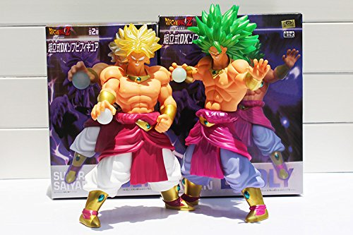 "10"" 26cm 2 Styles Optional Dragon Ball Z Super Saiyan Broly PVC Action Figure Model Toy Retail Box Packaged"