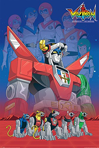 Voltron - TV Show / Comic Poster / Print Legacy By Stop Online