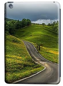 iPad Mini Case and Cover -Winding Road Hill PC case Cover for iPad Mini