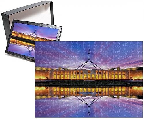 Photo Jigsaw Puzzle of Australian Parliament House, Canberra, Australia