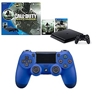 PlayStation 4 Slim 500GB Call of Duty Infinite Warfare Legacy Console + Extra Controller Bundle
