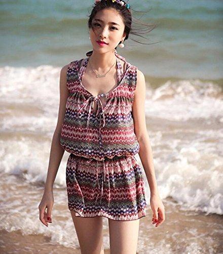 YUPE Hot spring Badeanzug drei Stück Mode Bademode weiblichen Triangel Bikini Beach bikini Mädchen Strand
