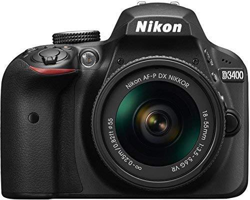 Nikon D3400 w AF P DX NIKKOR 18 55mm