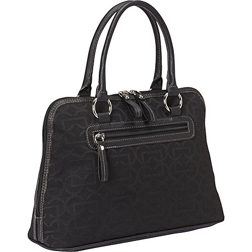 aurielle-carryland-geo-signature-dome-satchel-black