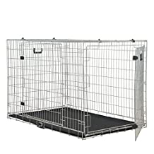 "Rosewood 02081 Pet Two-Door Dog Home, large 36"" x 25"" x 28""h"