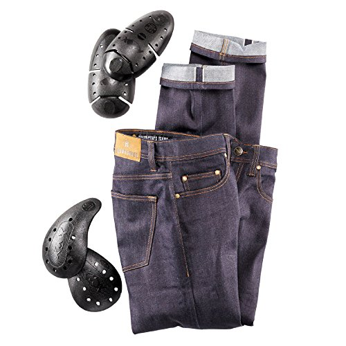 Resurgence Skinny Raw Denim Cafe Racer