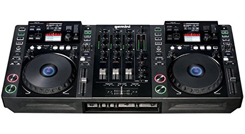 Gemini CDMP Series CDMP-7000 Professional Audio DJ LCD Color Touch Screen Media Controller with CD, SD, and USB Compatibility