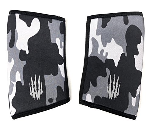 - Bear KompleX Elbow Sleeves (Sold AS A Pair of 2) for Weightlifting, Powerlifting, Wrestling, Strongman, Bench Press, Cross Fitness, More. Compression Sleeves are 5mm Thickness Elbow BLK CAMO XXXL