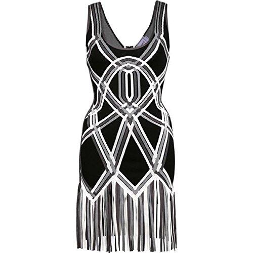 36 Kleid schwarz schwarz HLBCBG Damen pBqSBn7