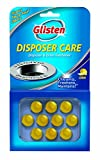 Glisten Disposer Care Freshener, Lemon Scent, 12 Pack, 120 Use