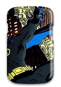 New Tpu Hard Case Premium Galaxy S3 Skin Case Cover(batman)