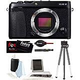 Fujifilm X-E3 Mirrorless 24.3MP Digital Camera Body (Black) + Focus Kit