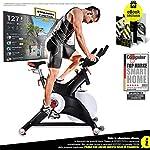 51OUVjTWTkL. SS150 Sportstech Cyclette Professionale SX500 - Marchio di qualità Tedesco -Eventi Video & Multiplayer App, volano da 25KG…