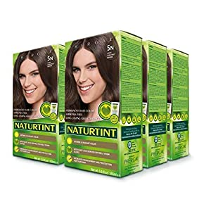 6 pack of Permanent Hair Color – 5N, Light Chestnut Brown, 5.6 oz