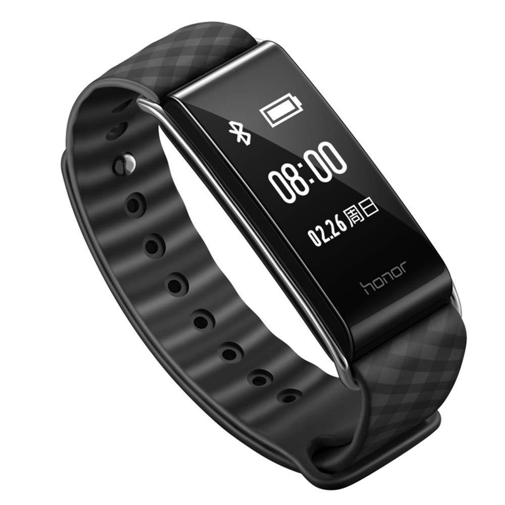 MI-Pedometri Armband Ruhm Spiel Armband A2 wasserdicht Smart Armband Schrittzähler Herzfrequenz Gesundheit Überwachung Uhr Smart Erinnerung Männer und Frauen Sport Armband schwarz