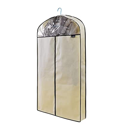 Amazon.com: Funda para colgar ropa de polvo, bolsa gruesa ...