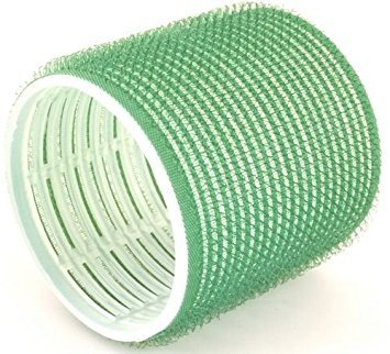 Hair Tools Cling Hair Rollers - Jumbo Green 61 mm x 6
