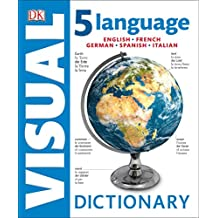 5 Language Visual Dictionary: English, French, German, Spanish, Italian