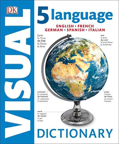 5 Language Visual Dictionary by DK Publishing Dorling Kindersley