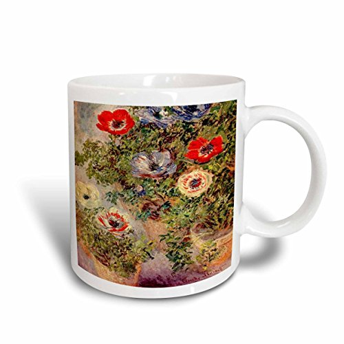- 3dRose Monet Still Life Painting Ceramic Mug, 15-Ounce