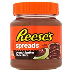 This peanut butter chocolate spread is the perfect addition to breakfast or any snack Reese's Spreads have the power to transform any snack into a delicious treat Convenient container Great anytime snack Includes 1 jar of Reese's Spreads Pean...