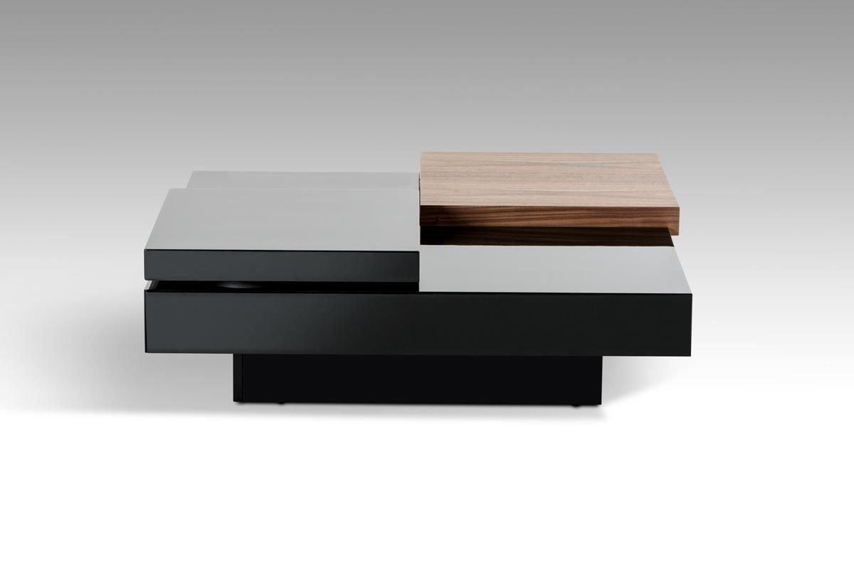 Amazon VIG Furniture Modrest Ambry Modern Walnut and Black