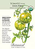 "Tomato ""Green Zebra"" Certified Organic Heirloom Seeds"