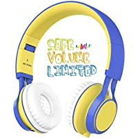 Kids Headphones, HD30 Volume Limiting Kids Headset with...