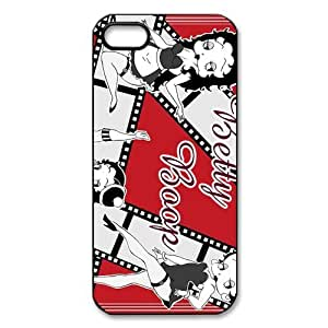 Betty Boop Custom Printed Design Durable Case Cover for Iphone 5 5S