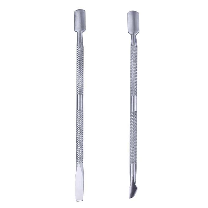 200 uds envoltorios de aluminio con almohadillas absorbentes para retirar todo esmalte de uñas: Amazon.es: Belleza